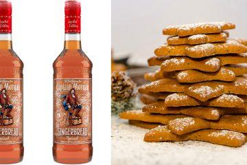 Captain Morgan's Gingerbread Spiced rum