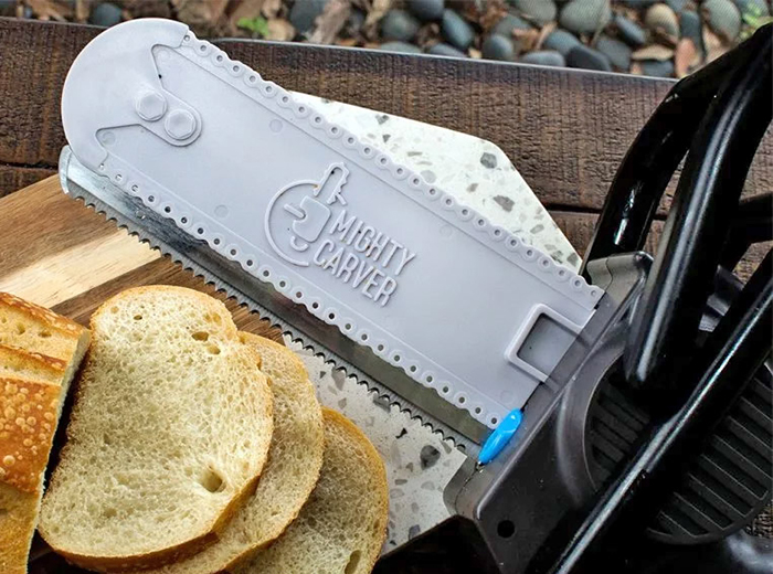 Chainsaw Knife for Slicing Bread