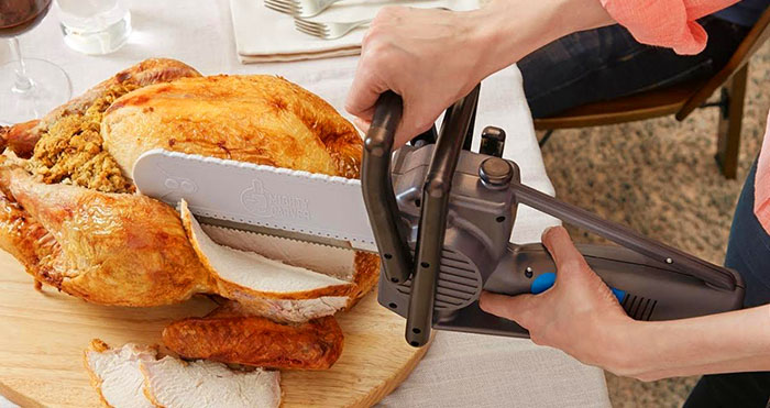 Chainsaw Turkey Carving knife