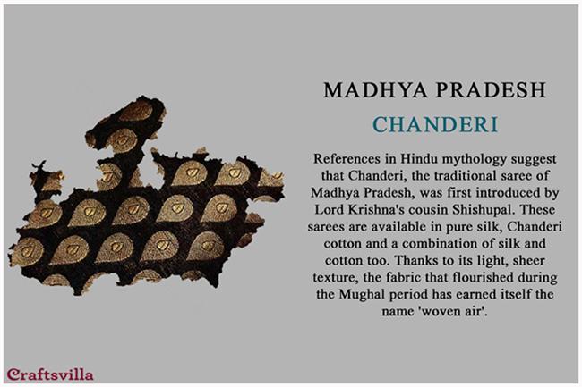 Chanderi of Madhya Pradesh