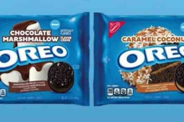 Chocolate Marshmallow and Caramel Coconut Oreos