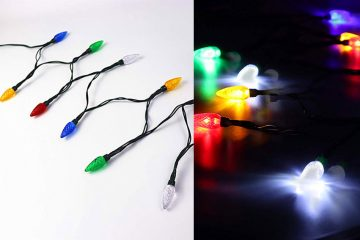 Christmas lights phone charger