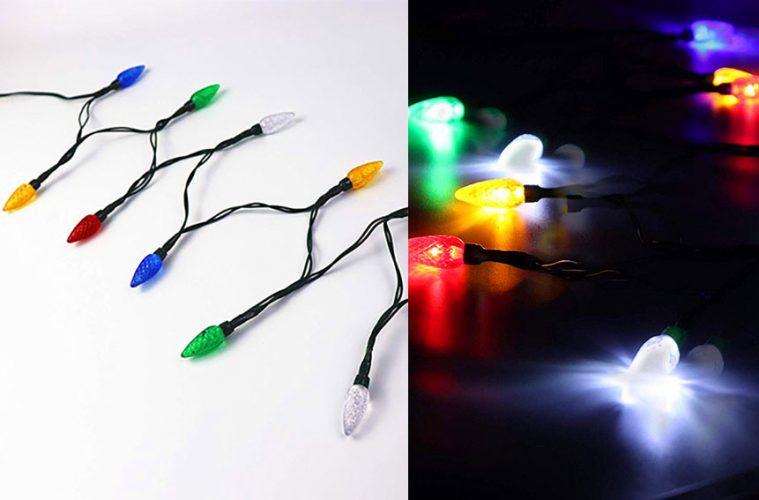 Christmas lights phone charger