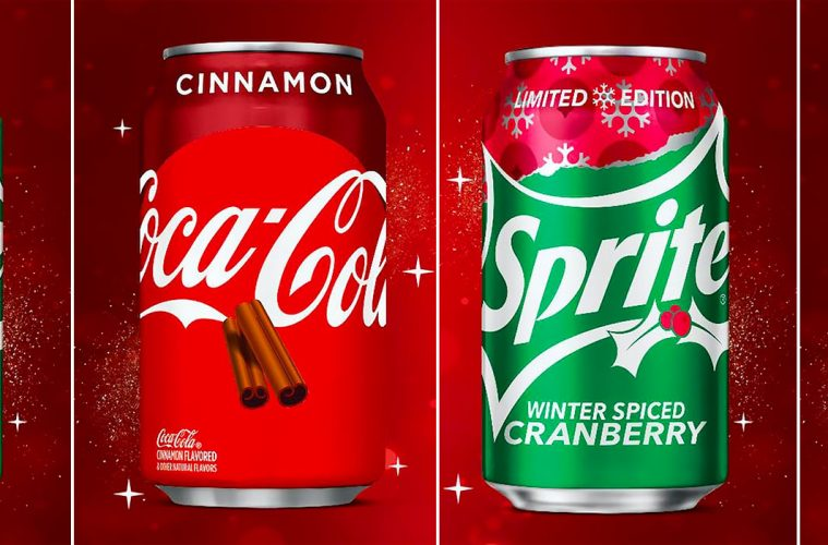 Coca-Cola Cinnamon And Sprite Winter Spiced Cranberry