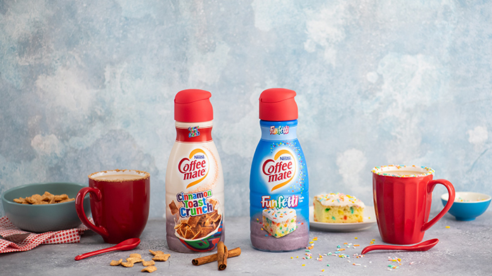 Coffee-mate Cinnamon Toast Crunch And Funfetti Creamers
