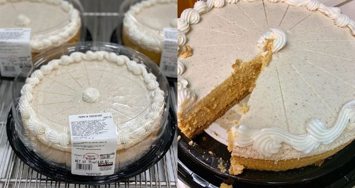 Costco's 5-Pound Pumpkin Cheesecake
