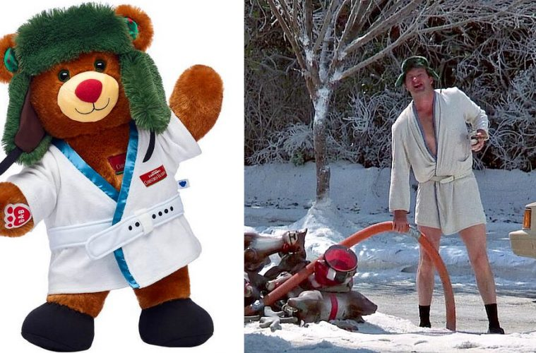 Cousin Eddie build a bear