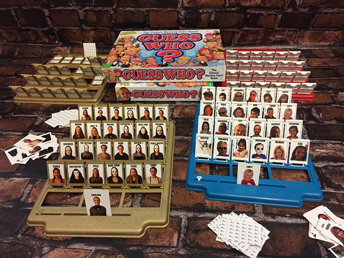 Customized Guess Who Board Game