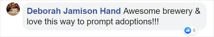Deborah Jamison Hand Facebook Comment