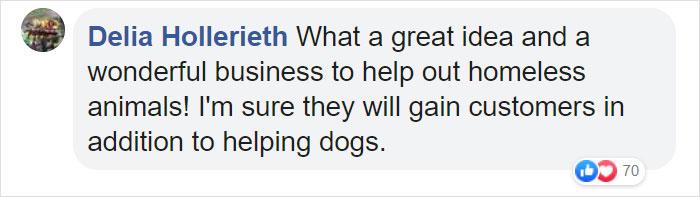 Delia Hollerieth Facebook Comment