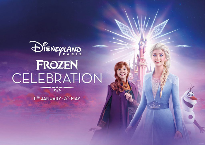 Disneyland Paris Frozen Celebration Promotional Poster