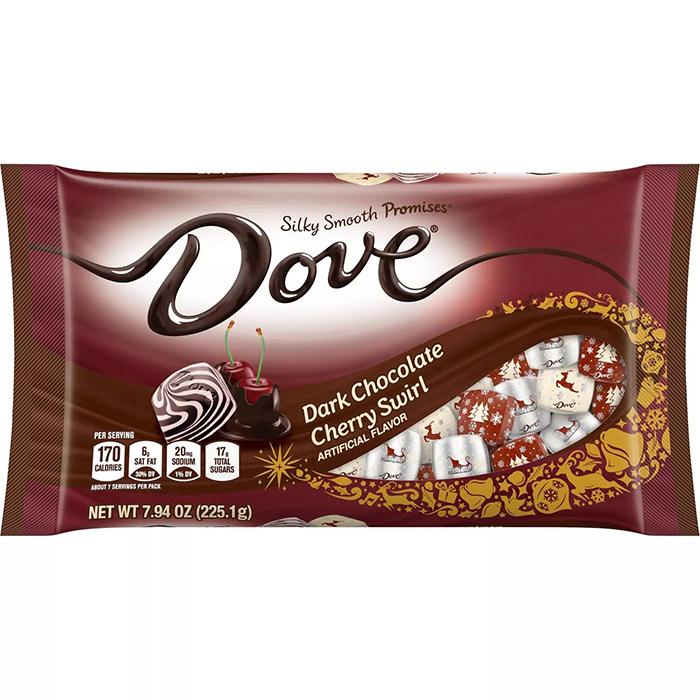 Dove Dark Chocolate Cherry Swirl