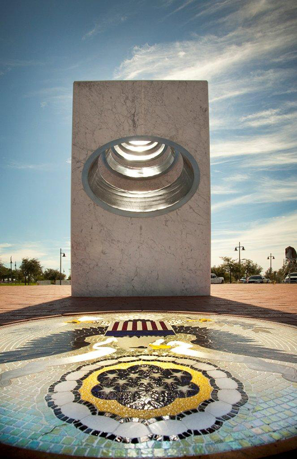 Five Pillars Spotlighting the Great Seal of the United States on Veterans Day 2