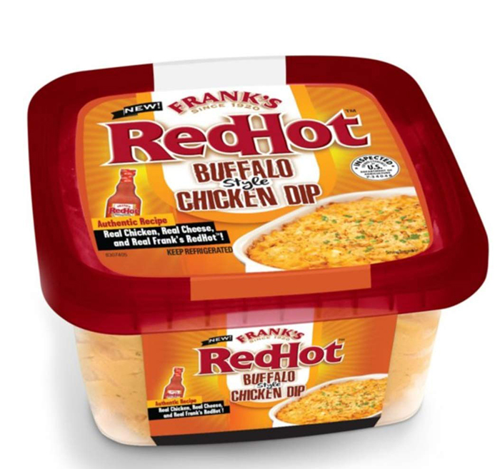 Frank's Redhot Buffalo-Style Chicken Dip Packaging
