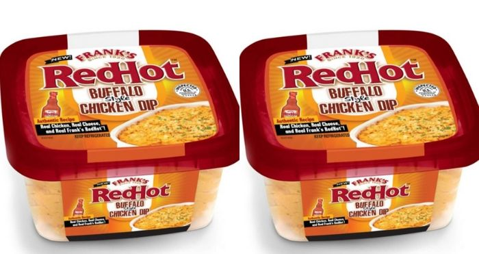 Frank's Redhot Buffalo-Style Chicken Dip