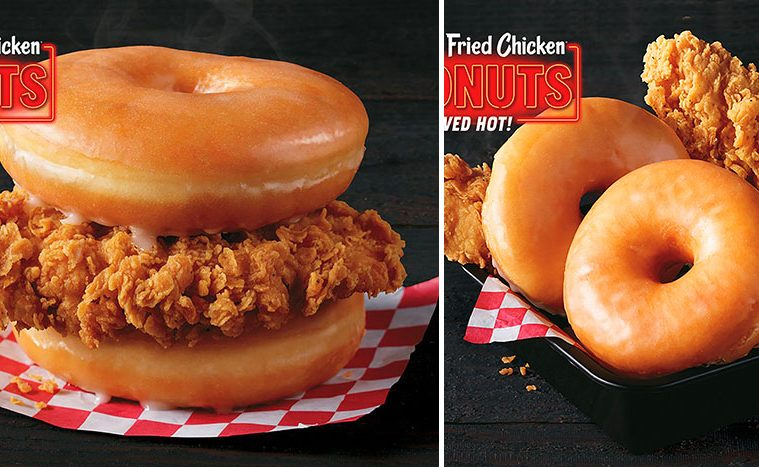 Fried chicken and donuts
