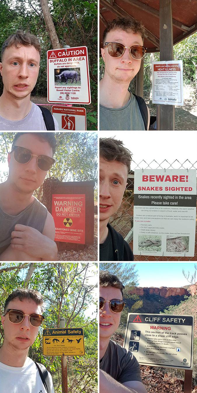 Funny Threatening Signs australia