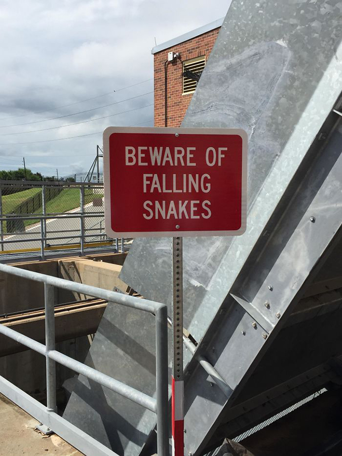 Funny Threatening Signs texas home of the worlds scariest sign