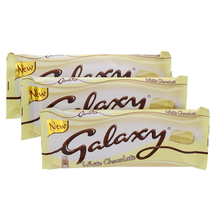 Galaxy White Chocolate Bars