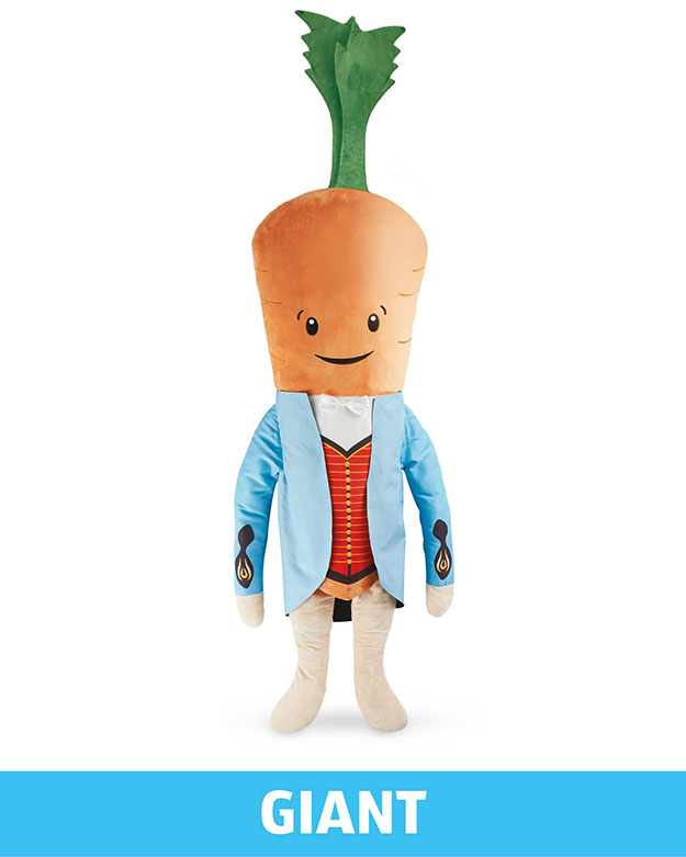 Giant Kevin The Carrot Toy