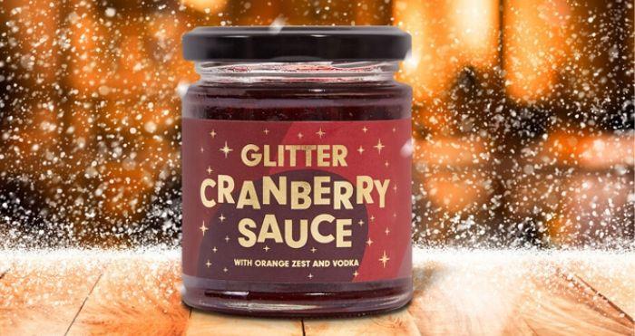 Glitter Cranberry Sauce