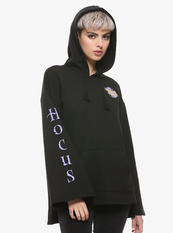 Hocus Pocus Clothing Collection Black Bell Sleeve Hoodie