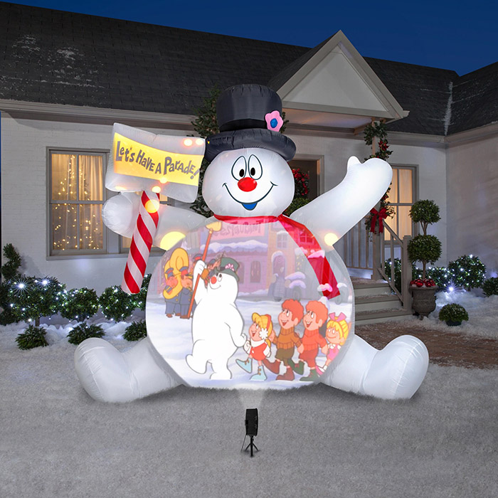 Inflatable Frosty The Snowman