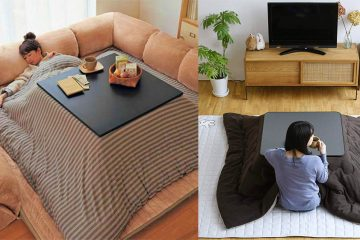 Japanese Heated Kotatsu Table