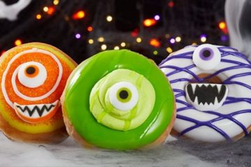 Krispy Kreme's Halloween Monster Donuts