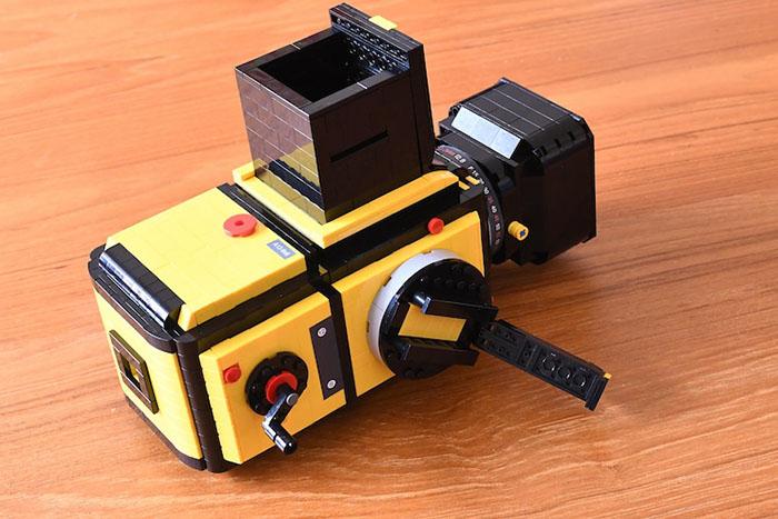 LEGO Hasselblad 503CX Winding Crank