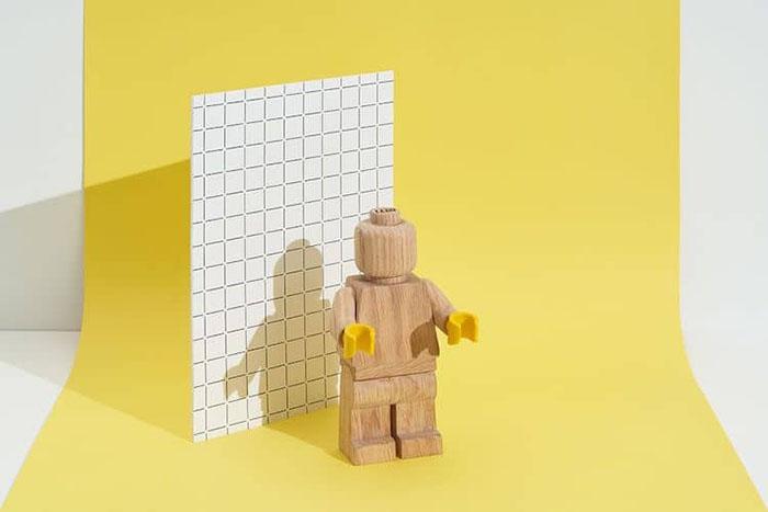 LEGO Wooden Figure