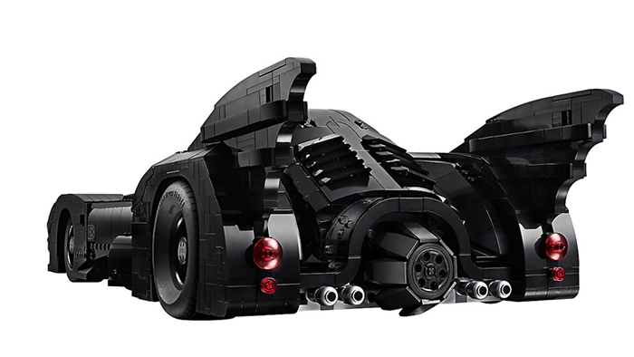 LEGO batmobile back