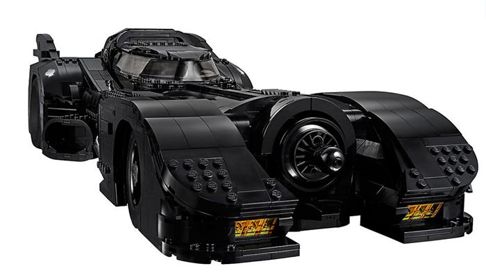 LEGO batmobile front