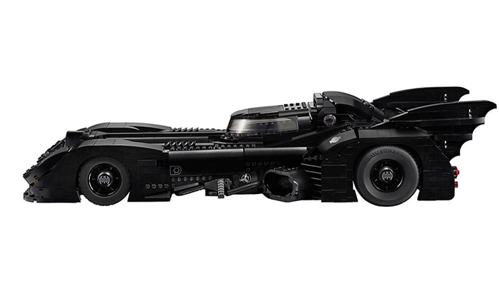 LEGO batmobile sideview