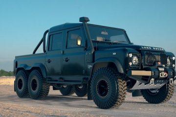 Land Rover 6x6 SUV