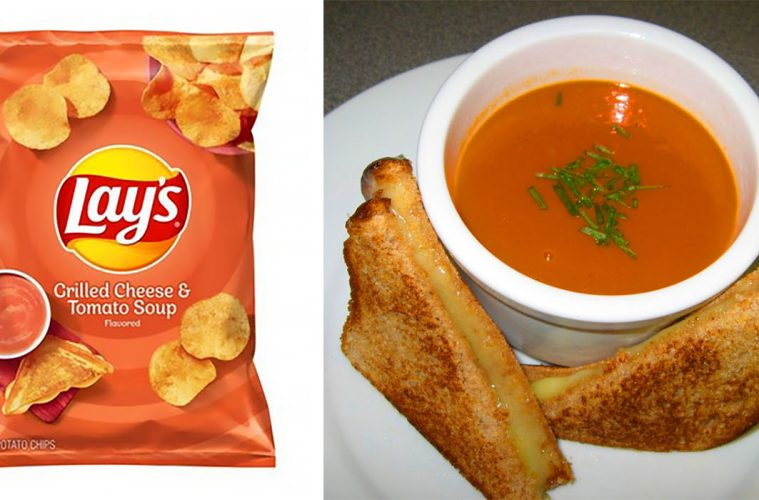 Lay's Cheese & Tomato Soup flavor