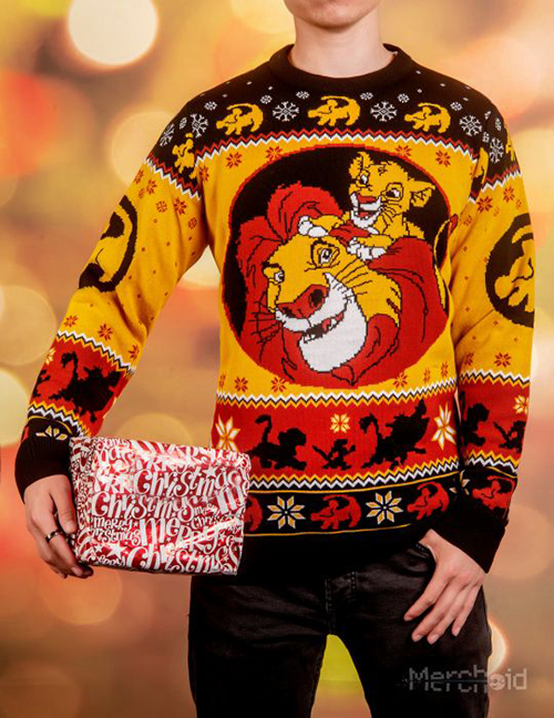Lion King Ugly Disney Christmas Sweater for Men