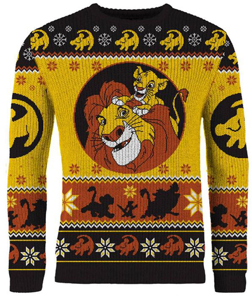 Lion King Ugly Disney Christmas Sweater