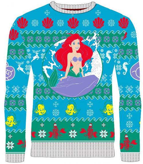 Little Mermaid Ugly Disney Christmas Sweater