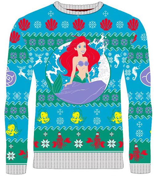 Little Mermaid Ugly Disney Christmas Sweater