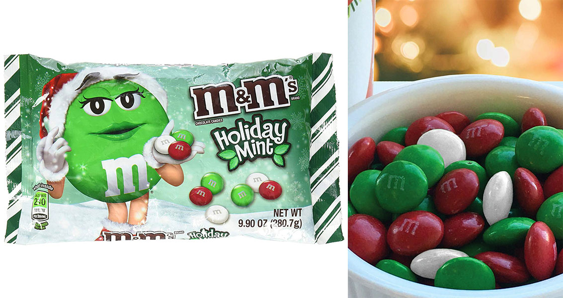 M M S Holiday Mint Flavor Are Back In Time For Christmas