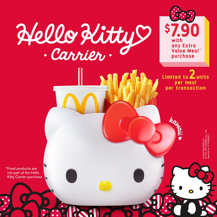 McDonald's Hello Kitty Meals Official Announcement