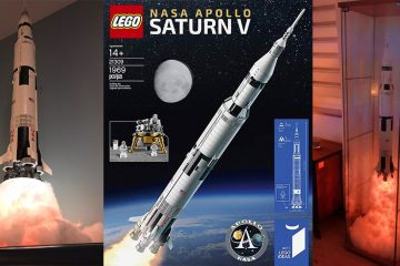 NASA Apollo Saturn V LEGO set