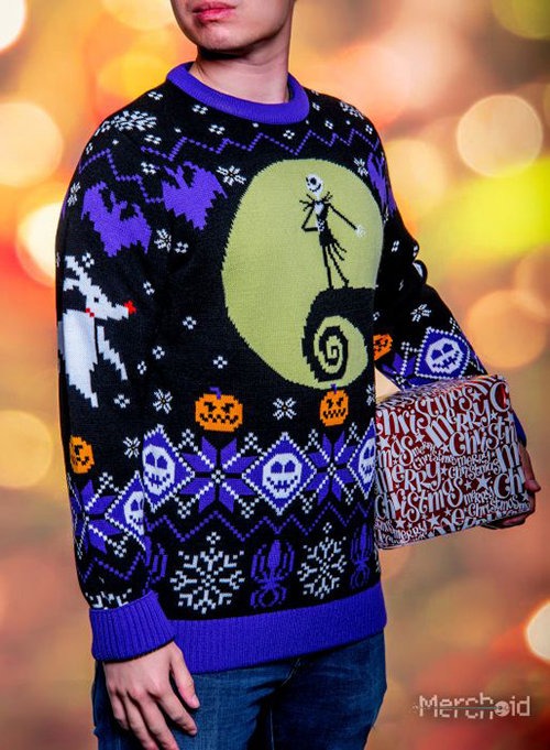 Nightmare Before Christmas Ugly Disney Christmas Sweater for Men