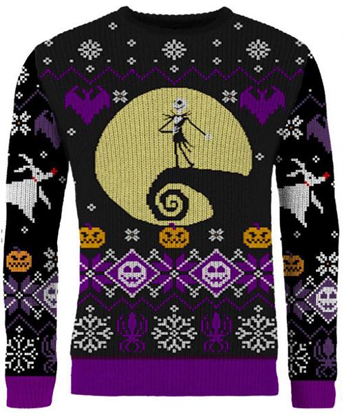 Nightmare Before Christmas Ugly Disney Christmas Sweater