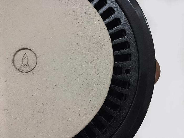 Noori Stove Pizza Disk