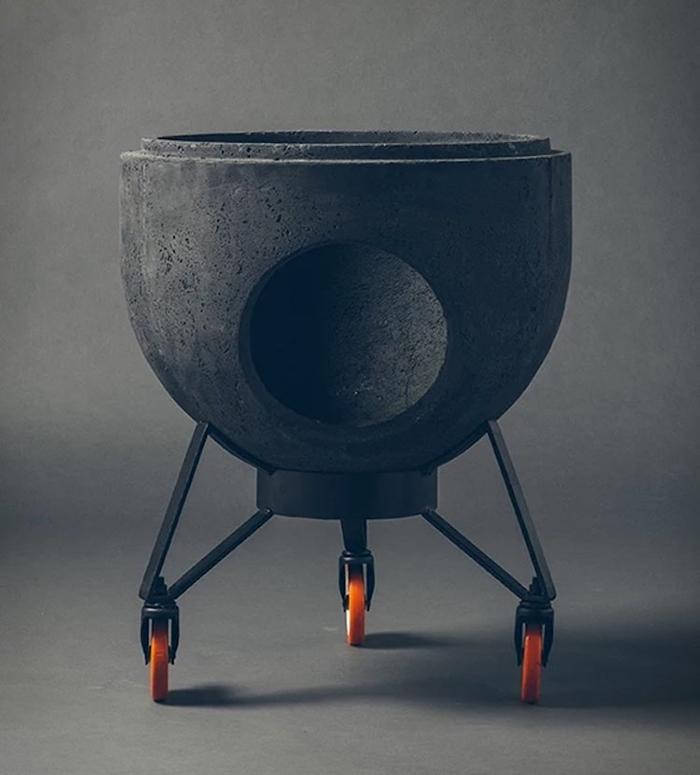Noori V01 as a Fire Pit