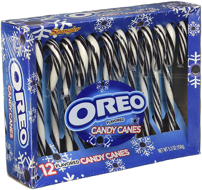 Oreo Candy Canes Box of 12 Left