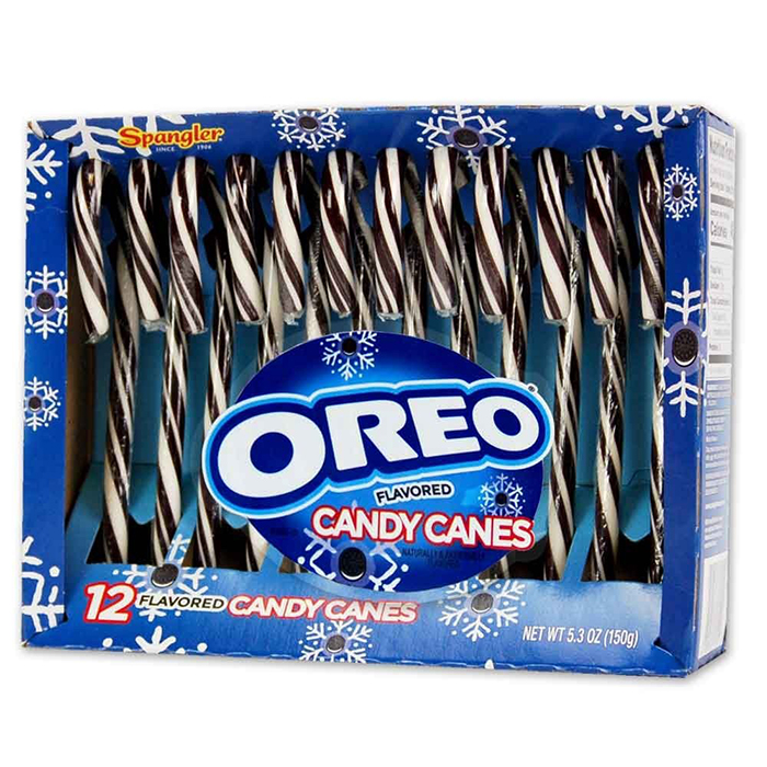 Oreo Candy Canes Box of 12 Right