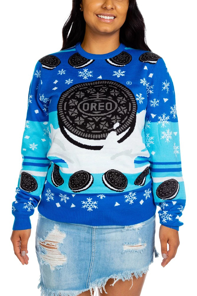 Oreo Ugly Christmas Sweater Front